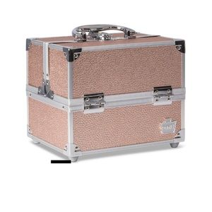 Caboodles Makeup - Rose Gold Makeup Case